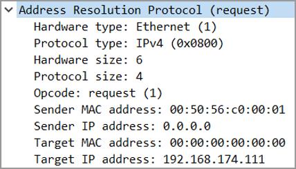 Pracnet.net - ARP Probe